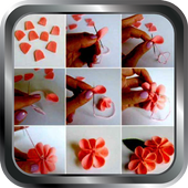DIY Paper Flower Quilling Making Crafts Home Ideas icon