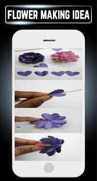 DIY Paper Flower Quilling Making Crafts Home Ideas apk screenshot