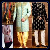 Men's Sherwani Designs Groom Indain Wedding Suits icon