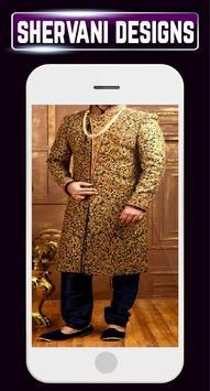 Men's Sherwani Designs Groom Indain Wedding Suits apk screenshot