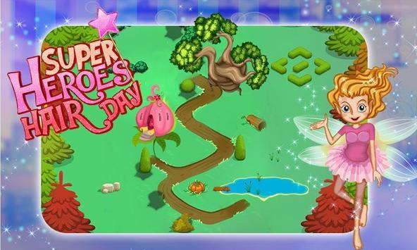 Super Heroes Hair Saloon screenshot 2