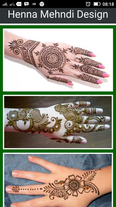 Desain Henna Tangan Mehndi Indah For Android Apk Download