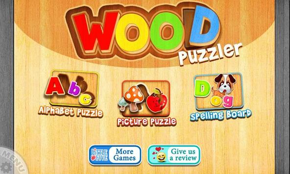 Wood Puzzler poster