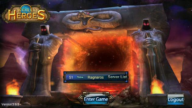 World of Heroes screenshot 1