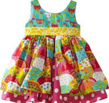 Little Girl Dress Designs poster