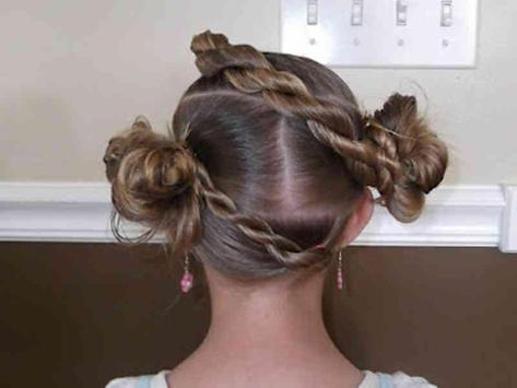 Little Girl Hairstyle Ideas screenshot 6
