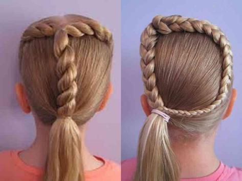 Little Girl Hairstyle Ideas screenshot 3