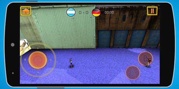 The Street Soccer futsal 3D apk screenshot