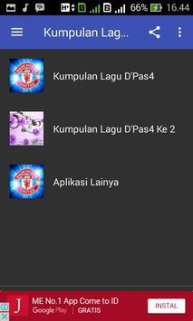 Kumpulan Lagu D'Pas4 Komplit apk screenshot