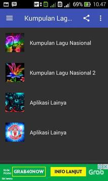 Kumpulan Lagu Nasional Komplit apk screenshot