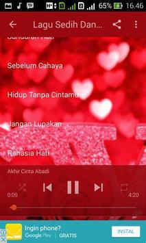 Lagu Sedih Dan Galau Lengkap apk screenshot