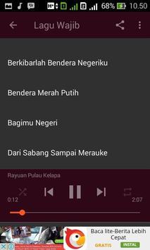 Lagu Wajib Lengkap 2017 apk screenshot