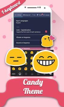 Colorful Candy Photo Keyboard apk screenshot
