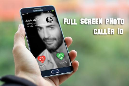 Full Screen Photo Caller ID apk screenshot
