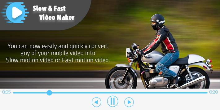 Slow Fast Video Editor poster