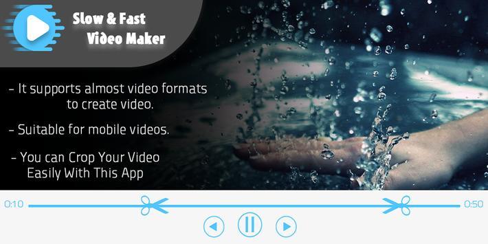 Slow Fast Video Editor apk screenshot