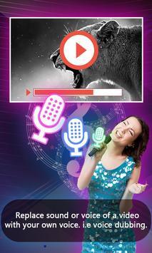 Voice Dub Video apk screenshot