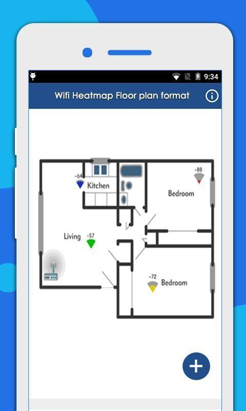 WIFI Heat Map: Measure wifi signal strength for Android ... Signal Strength Map on latitude map, country code map, longitude map, mac map, connection map,