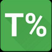 PercenTime (app usage monitor) icon