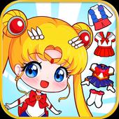 Little Sailor Girls Dress Up icon
