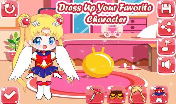 Little Sailor Girls Dress Up screenshot 1