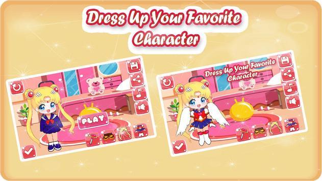 Little Sailor Girls Dress Up screenshot 2
