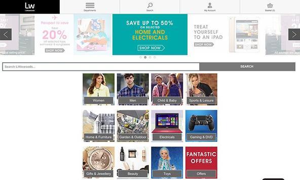 Shopping Fans Littlewoods UK screenshot 2