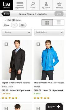 Shopping Fans Littlewoods UK screenshot 8