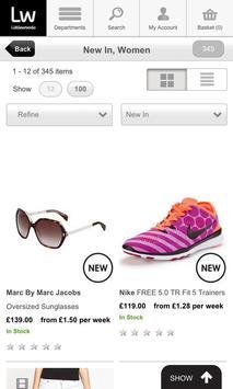 Shopping Fans Littlewoods UK screenshot 9