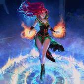 Magic Girl Live Wallpaper icon