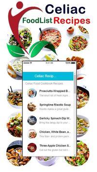 Healthy Celiac Disease - Gluten Free Diet Recipes poster