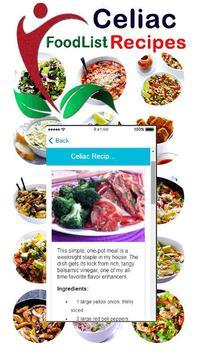Healthy Celiac Disease - Gluten Free Diet Recipes apk screenshot