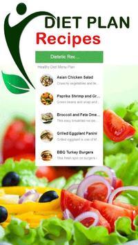 Healthy Diet Menu Plan Recipes poster