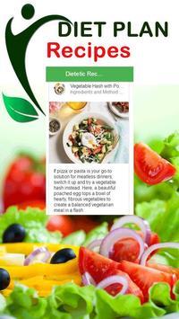Healthy Diet Menu Plan Recipes apk screenshot