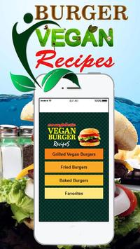 Quick Vegan Burger Recipes screenshot 1