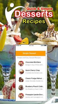 Healthy Easy Desserts Recipes poster