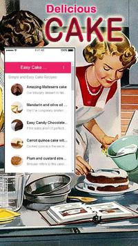 Simple Cake Recipes poster
