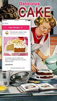 Simple Cake Recipes screenshot 1