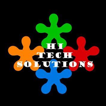 Hi Tech Solutions poster