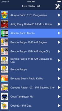 Philippines Radio Live poster