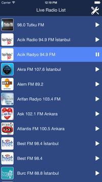 Turkey Radio Live poster