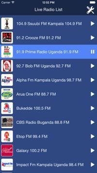Uganda Radio Live poster