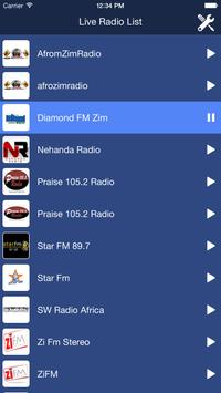 Zimbabwe Radio Live poster