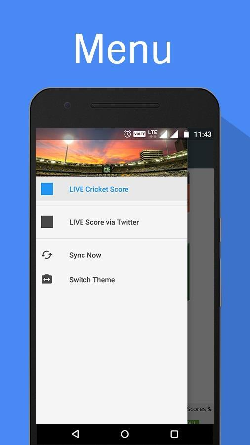 LIVE Cricket Score Ball by Ball Update for Android - APK Download