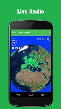 Global Radio Free poster