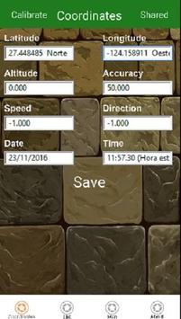 Coordinates Gps apk screenshot