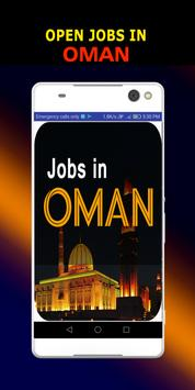 Jobs in Oman poster