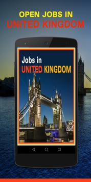 Jobs in UK / London poster