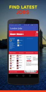 Jobs in UK / London apk screenshot