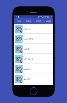 OWL LIVE TV apk screenshot